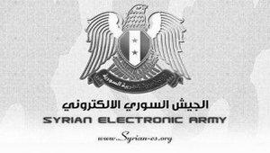 Сирийская электронная армия?