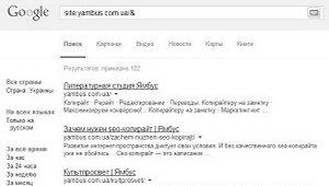 Дополнительный индекс, или Сопли Гугла