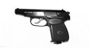 Пневматический пистолет МР-654К - копирайтинг