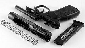 Пневматический пистолет МР-654 К