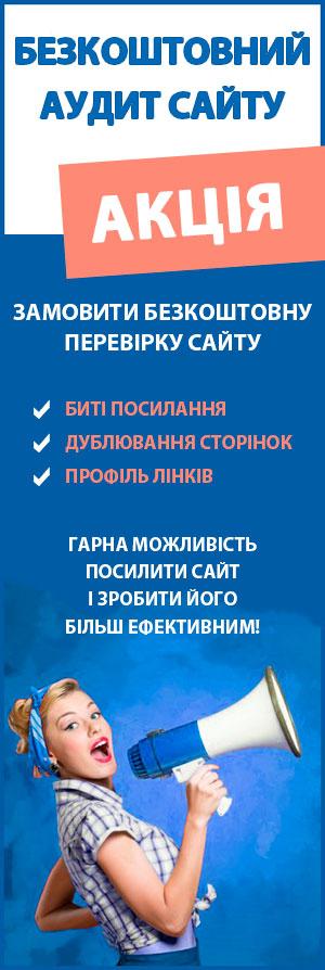 розкрутка і просування сайту в Україні і Києві
